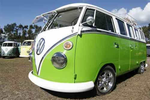 The Vw Kombi Bang Bus